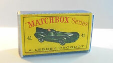 Repro Box Matchbox 1:75 Nr.41 Jaguar Racing Car