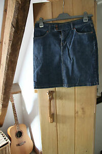 Cherokee Ladies Mini Blue Jeans Skirt Size12 stretchy