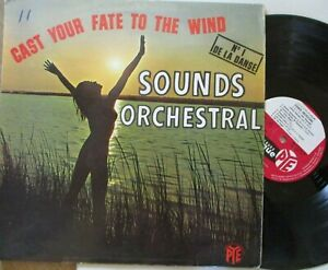 SOUNDS ORCHESTRAL ~ Cast Your Fate To The Wind ~ VINYL LP FRENCH press