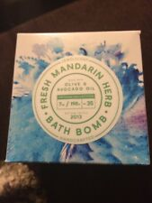 jewel-scent bathbomb fresh mandarin herb size 8