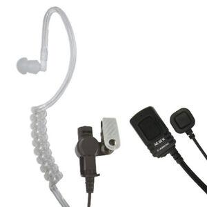 Security-Headset Midland AE 32 K Servicio de Seguridad 2 Ptt Taste Kenwood