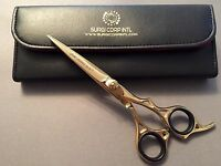 "6"" Professional Hairdressing Scissors Barber Hair Cutting Gold Edition Shear"