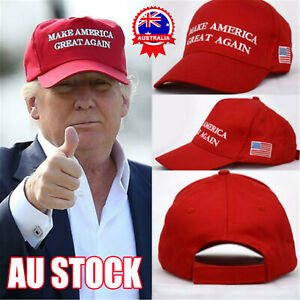 Trump Hat Make America Great Again MAGA 2020 2016 Embroidered Red Adjustable Cap