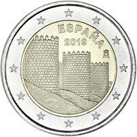 Spanien 2 Euro 2019 Avila UNESCO Welterbeserie Gedenkmünze bankfrisch