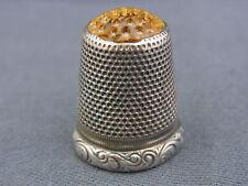 Haushalt 44687 Fingerhüte Symbol Der Marke Fingerhut Ziseliertes Geometrisches Muster Blaue Emaille