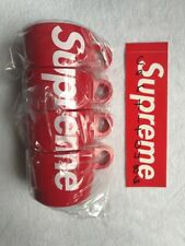 Supreme Stacking Cups Set Of 4 *In Hand* Week 1 SS18 Box Log Coffee With Box
