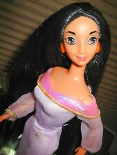 "Mattel Disney Princess Jasmine from Aladdin Barbie Collectible 12"" Fashion Doll"