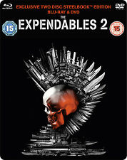 Expendables 2 - Limited Edition Steelbook / Double Play (Blu ray + DVD)