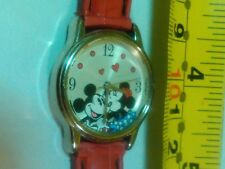 Disney Mickey And Minnie Mouse Women's SILVER  Tone Silver And  Alloy Watch,