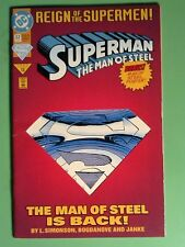 Superman The Man of Steel 22 [Die-Cut Cover Edition] (Jun 1993, DC Comics)