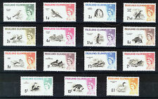 FALKLAND ISLANDS 1960 DEFINITIVES SG193/207 MNH