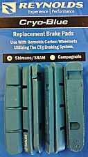Reynolds Cryo Blue Brake Pads for Carbon Wheels Shimano / SRAM Cartridge