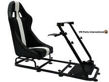 Race Car Gaming Racing Simulator Seat Present Gift Present For PC PS5 XBox