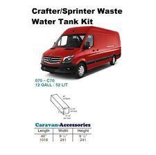 Waste Water Tank Kit for Crafter/Sprinter D.I.Y. Kit van to Campervan
