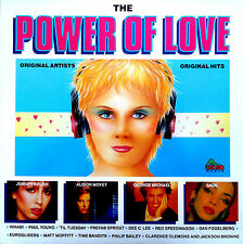 The Power Of Love-LP-Wham-Jennifer Rush-Sade-George Michael-1987 Dino-DIN032