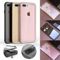 Luxury Metal Bumper Gorilla Glass Back Cover Case for iPhone 7 7 Plus 6/6s Plus