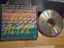RARE PROMO Herbie Hancock CD single Vibe Alive MIXES BILL LASWELL Bootsy Collins