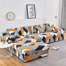 Stretch Slipcovers Sectional Elastic Stretch Sofa Cover for Living Room CoucH