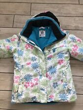 Salomon Girls Ski Jacket with hood size age 12 Skiing Snowboarding