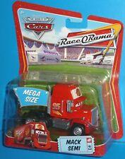 2009 Disney Pixar The World of Cars Mack Semi Race-O-Rama #3 NIP HTF