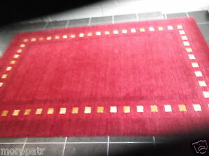 PACIFIC DELUXE, 9' x 6'  BRAND NEW, HAND-WOVEN, THICK, FINE WOOL RUG...FREE DEL.