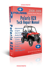 BEST Polaris RZR RZR-S INT'L 800 Ranger Service Repair Manual CD ONLY 2009 2010