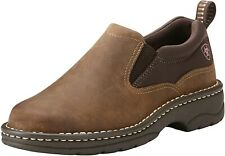 Ariat 244033 Womens Traverse Leather Slip-On Shoes Distressed Brown Size 10 B