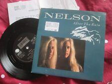 Nelson dopo la pioggia GEFFEN RECORDS GEF 86 Blu UK 7 POLLICI VINILE + premere R