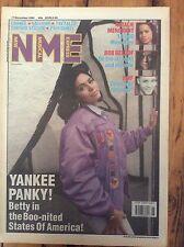 NME 17/11/90 Betty Boo cover, Natalie Merchant, Bob Geldof, EMF