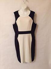 CALVIN KLEIN Women's white Formal Work Evening casual fashion Dress Size 14