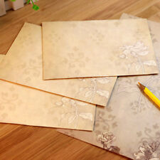 40 Sheet Vintage Stationery Sets with Envelopes for Writing Letters P2D1