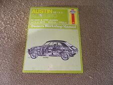 Austin Allegro Mk 1 & 2 Haynes Manual - 1973 to 1978 - All Models