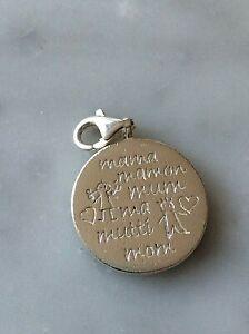 "Charm Sterling Silver 925 Thomas Sabo "" Mama ""    (105271V)"