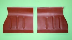 Ford Capri toe boards a pair repair panels LH and RH right and left sides Q067