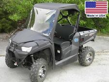 Kymco 450 Vinyl Windshield and Roof Combo - Top - Canopy - Commercial Duty