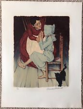Norman Rockwell, MY HAND SHOOK, Limited Edition