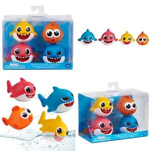 WowWee Pinkfong Baby Shark Bath Squirt Toy - 4 Pack