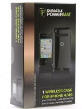 Duracell Powermat Wireless Battery Case for iPhone 4/4S with USB cable - - Black