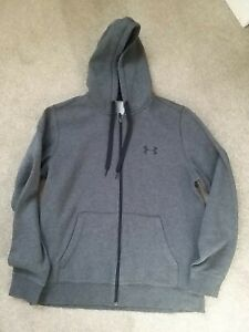 Mens Under Armour Full Zip Hoodie Size Large
