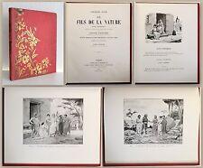 Halm Le Fils de la Nature Poem Dramatique 1903 Werke Gedicht Drama illustriert