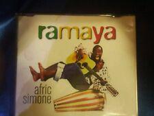 AFRIC SIMONE - RAMAYA. CD SINGOLO 2 TRACKS. TIMBRO SIAE ROSSO A SECCO  RARO!