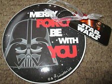 Star Wars Christmas MERRY FORCE BE WITH YOU Decoration - Darth Vader BRAND NEW