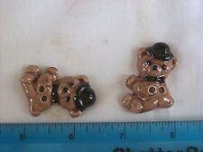 Bear Buttons, Teddy Bear Buttons, Craft Buttons