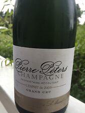 3 BT CHAMPAGNE BLANC DE BLANC GRAND CRU LE MESNIL S/OGER 2009 L'ESPRIT P. PETERS