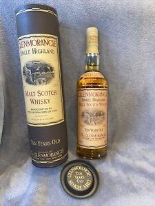 Alter Glenmorangie Single Highland Malt Scotch Whisky 10 Years Old 40%, OVP