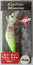 MATZUO  Kinchou Minnow Salmon Series - Size 7 - 1/4 oz. - Lemon Lime Spackle