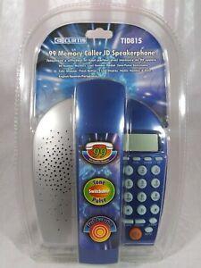 New CURTIS TID815 99 Memory Caller ID Speakerphone Landline Corded Telephone