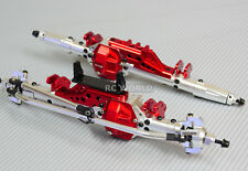 AXIAL WRAITH Scorpion Poison Metal AXLES Front + Rear  RC Rock Racer AXLES RED