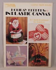 Holiday Keepers in Plastic Canvas Leisure Arts 1990 Leaflet 1246