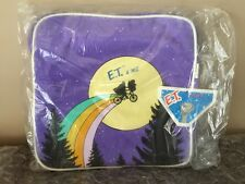1982 E.T. LUGGAGE Vintage Backpack Book Bag ET Extra Terrestrial Alien